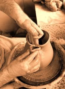 Lucrare in ceramica